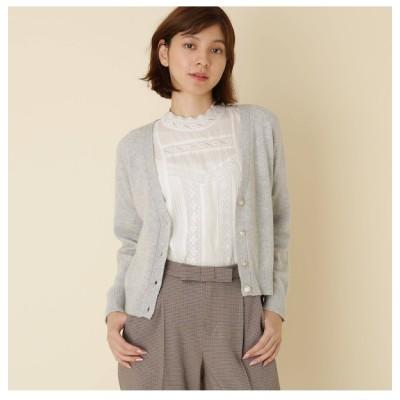 【クチュール ブローチ/Couture brooch】 【WEB限定サイズ(LL)あり】Vネックカーディガン
