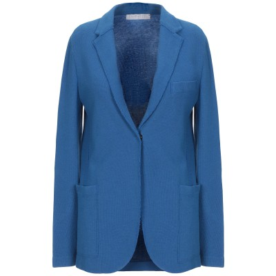 ハリス・ワーフ・ロンドン HARRIS WHARF LONDON テーラードジャケット ブルー 48 コットン 86% / 麻 14% テーラードジ