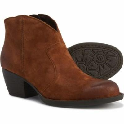 ボーン Born レディース ブーツ ブーティー シューズ・靴 Michel Ankle Booties - Leather Rust Distressed