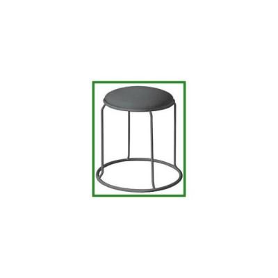 送料無料 レザー リンクスツール ブラック(ビニールレザー)/ブラック LLS-1|b03