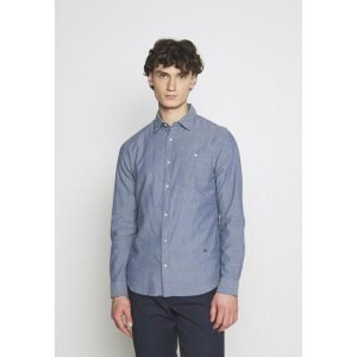 ジャック アンド ジョーンズ メンズ シャツ トップス Shirt - medium blue denim medium blue denim