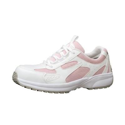 [ミドリ安全] 安全作業靴 JSAA認定 女性用 プロスニーカー SL602 ピンク JP 22.0(22cm)