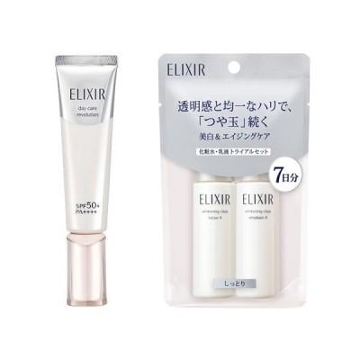資生堂 エリクシール ホワイト デーケアレボリューション T+ セット ( 1セット )