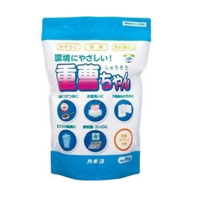 カネヨ石鹸 重曹ちやん 1kg 重炭酸ソーダ99%以上 (キッチン用洗剤 粉末)