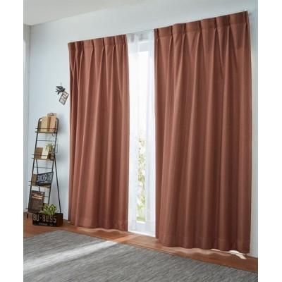【1cm単位オーダー】ピンストライプ柄遮光カーテン(1枚) ドレープカーテン(遮光あり・なし) Curtains, blackout curtains, thermal curtains, Drape(ニッセン、nissen)