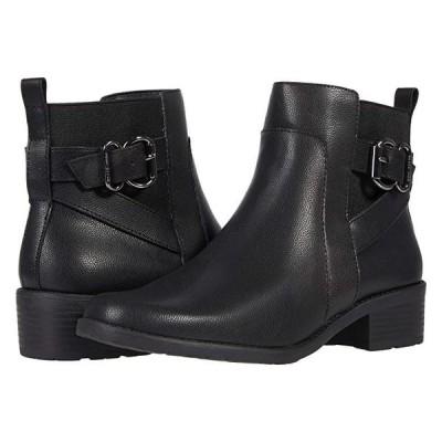 アンクライン Leala レディース ブーツ Black Leather