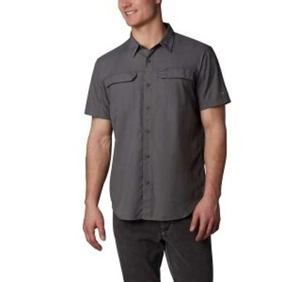 コロンビア メンズ シャツ トップス Columbia Men's Silver Ridge 2.0 SS Shirt City Grey