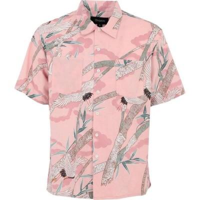 ブリクストン BRIXTON メンズ シャツ トップス patterned shirt Pink