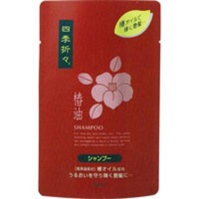 四季折々 椿油シャンプー つめかえ用 450ml[配送区分:A]