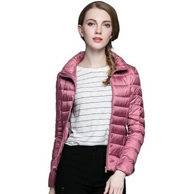中綿ジャケット レディース 軽量 防風 防寒 収納袋付き(s2012250222)