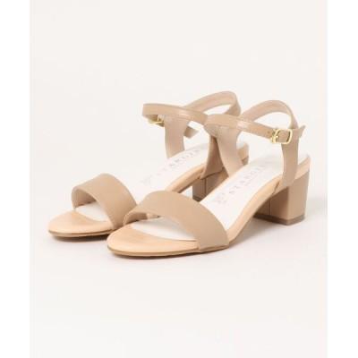 Xti Shoes / 【SG】甲ベルト 異素材使いサンダル WOMEN シューズ > サンダル