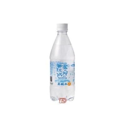 蛍の郷の天然水 スパークリング 友桝飲料 500ml 24本入