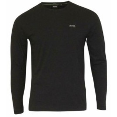 BOSS ボス ファッション トップス Hugo Boss Mens Togn Long Sleeve Crew Neck Cotton T-Shirt