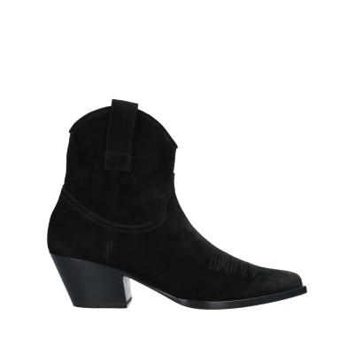 VIETTI ショートブーツ ブラック 37 革 ショートブーツ