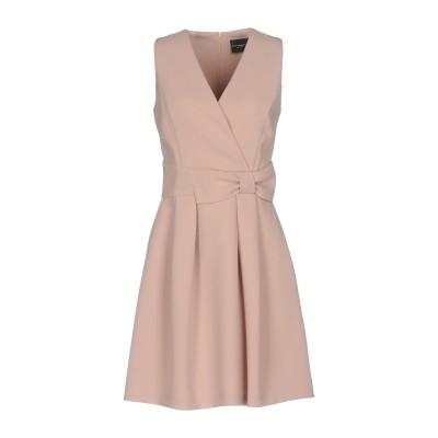 アトス ロンバルディーニ ATOS LOMBARDINI ミニワンピース&ドレス ローズピンク 46 ポリエステル 100% ミニワンピース&ドレス