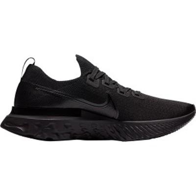 ナイキ メンズ ランニング スポーツ React Infinity Run Flyknit Running Shoe - Men's Black/Black-Black-White