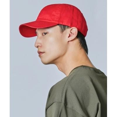 OVERRIDE / 【OVERRIDE】OR LINEN BASIC CAP/ MEN 帽子 > キャップ