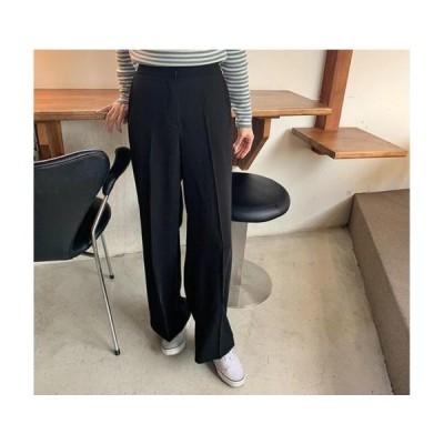 From Beginning レディース パンツ Modern wide banding pants