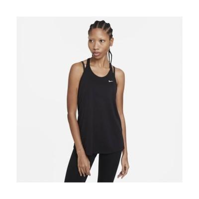 (取寄)ナイキ レディース ドライ レス エラスティカ タンク Nike Women's Dry Less Elastika Tank Black White