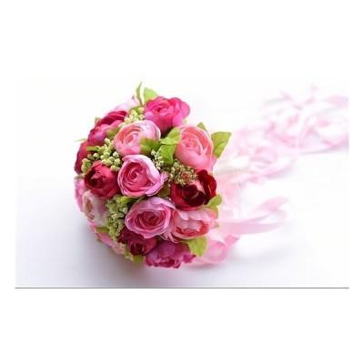 美人綺麗ブーケ ウェディングブーケセット 充実の満足ブーケ 高級造花ブーケ ドレスブーケ ラウンドブーケ ウエディングブーケ ブライダルブーケ