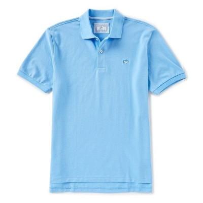 サウザーンタイド メンズ ポロシャツ トップス Skipjack Short-Sleeve Polo Shirt Ocean Channel