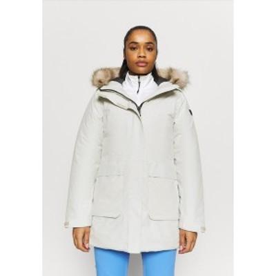 シーエムピー レディース コート アウター WOMAN FIX HOOD - Winter coat - gesso gesso