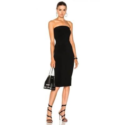 ノーマ カマリ Norma Kamali レディース ワンピース ワンピース・ドレス Strapless Dress Black