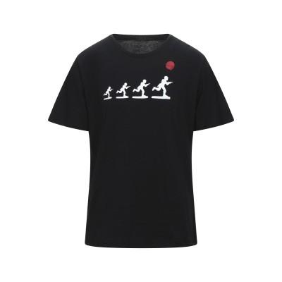 MALPH T シャツ ブラック S コットン 100% T シャツ
