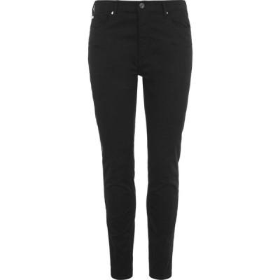 アルマーニ Armani Exchange レディース ジーンズ・デニム スキニー ボトムス・パンツ Skinny Jeans Black