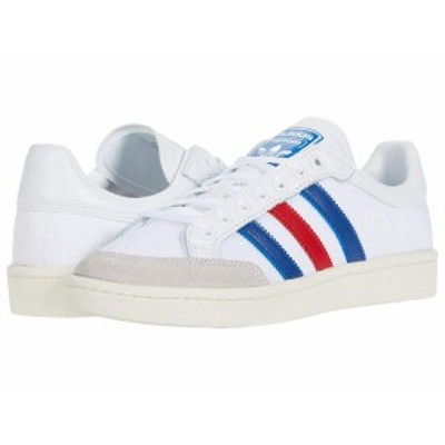 アディダス メンズ スニーカー シューズ Americana Low Footwear White/Collegiate Royal/Scarlet