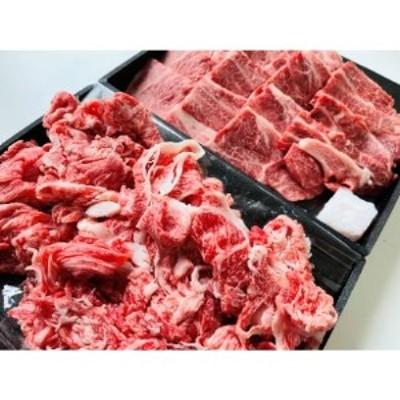 近江牛 おうち焼肉と切落しセット 1kg【1230800】