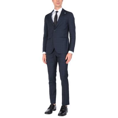 LUIGI BIANCHI Mantova スーツ ダークブルー 50 ウール 100% スーツ