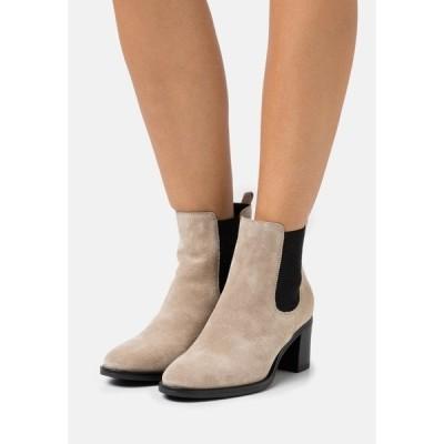 アンナフィールド ブーツ&レインブーツ レディース シューズ LEATHER - Ankle boots - beige