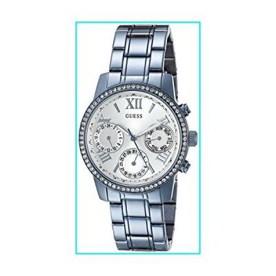 GUESS Women's U0623L4 Iconic Sky Blue Watch Multi-Function【並行輸入品】