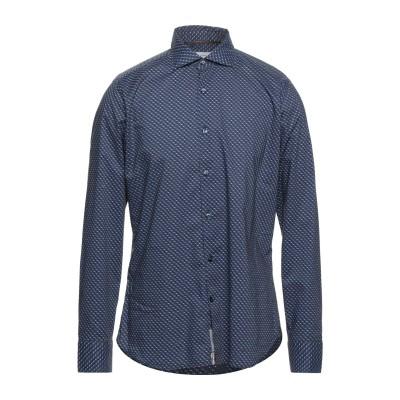 TINTORIA MATTEI 954 シャツ ブルー 40 コットン 100% シャツ