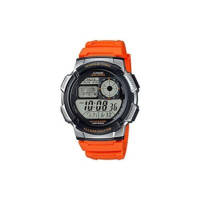 腕時計 カシオ Casio デジタル メンズ 腕時計 100M 5 アラーム クロノグラフ レジン AE1000W-4BV