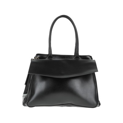 CORSIA ハンドバッグ ブラック 革 100% ハンドバッグ