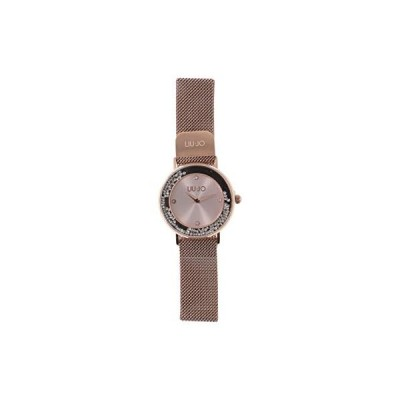 Watch Liu-Jo Luxury DENCING Slim Stainless Steel and Crystals - TLJ1349 Rose Gold 並行輸入品