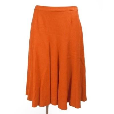 モスキーノ チープアンドシック オレンジ スカート I42 未使用