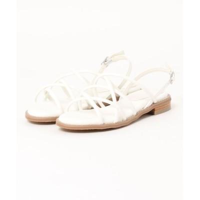 Parade ワシントン靴店 / 【華奢見え】メニーストラップフラットサンダル 7097 WOMEN シューズ > サンダル