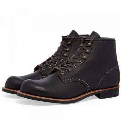 レッドウィング ブーツ シューズ 靴 メンズRed Wing 3345 Heritage Work 6 Blacksmith BootBlack Prairie