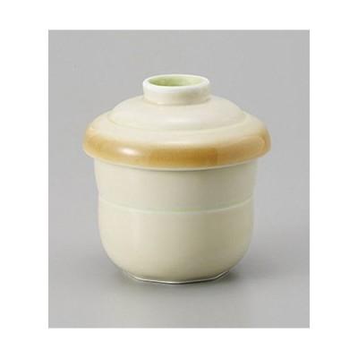 むし碗 黄彩蒸し碗 [7.2 x 8.9cm 165cc] 強化 料亭 旅館 和食器 飲食店 業務用