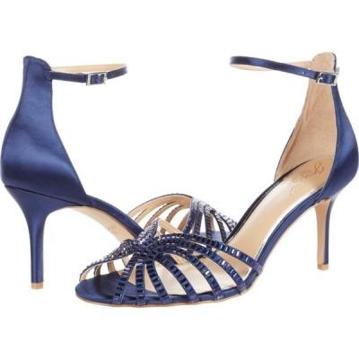 バッジェリー ミシュカ Jewel Badgley Mischka レディース サンダル・ミュール シューズ・靴 Pixie Navy