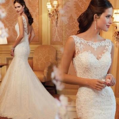 シンプルでシックなマーメイドライン 大人の魅力満載のドレス彡ドレス