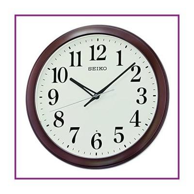 SEIKO Mori Wall Clock, Metallic Brown【並行輸入品】