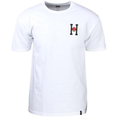 ハフ HUF メンズ Tシャツ トップス x Spitfire Classic H Tee white