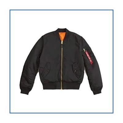 【新品】Alpha IndustriesメンズMA-1スリムフライトボマージャケット US サイズ: L カラー: ブラック【並