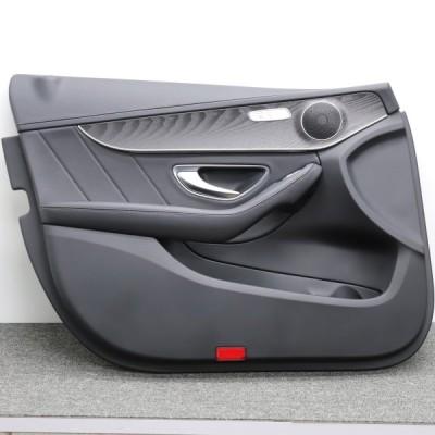 [M-16]ベンツ W205 C200 前期 左フロントドアトリム 内張り 中古