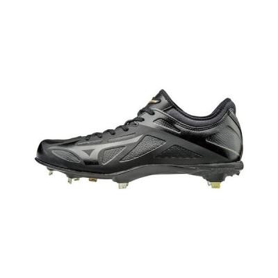 ミズノ(MIZUNO) 野球 スパイク 金具 一般 グローバルエリート GEハイストIQ2 11GM171000 黒 ブラック (メンズ)