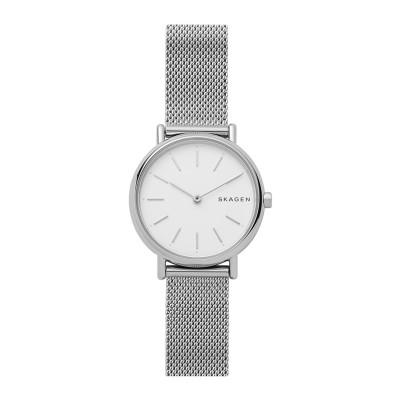 SKAGEN 腕時計 シルバー ステンレススチール 腕時計